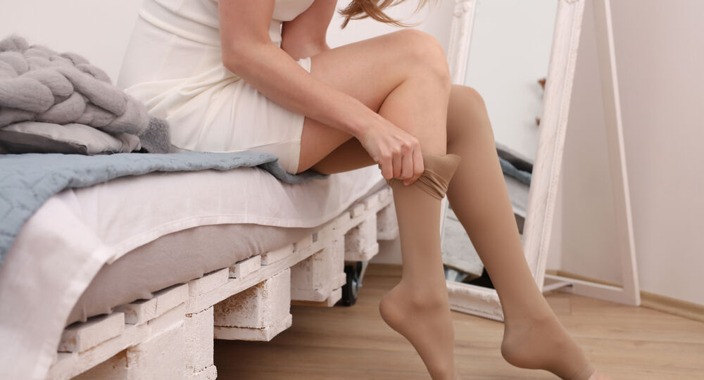 Varicose,Veins,Prevention,,Compression,Tights,,Relief,For,Tired,Legs.,Beautiful